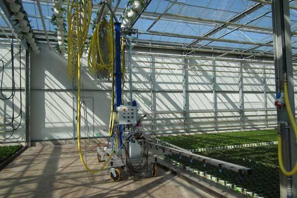 Semi-automatic Irrigation and Spraying System Irrispray Semi A