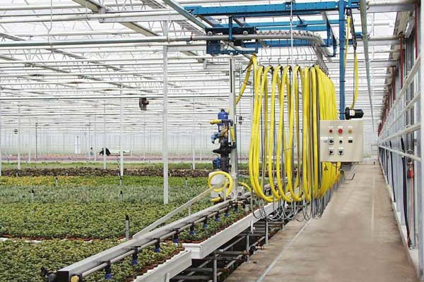Semi-automatic Irrigation and Spraying System