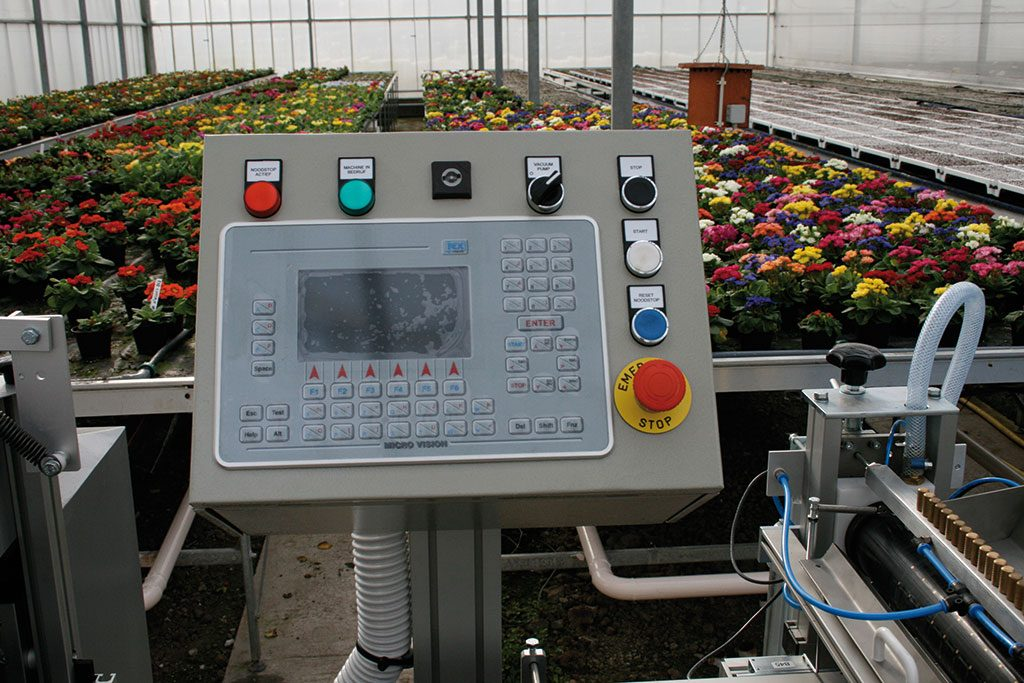 Seeder Touch Screen